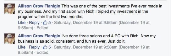 Salon review