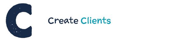 C: Create Clients.